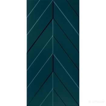 Плитка D734 4D.CHEVRON DEEP BLU MATT 800x400