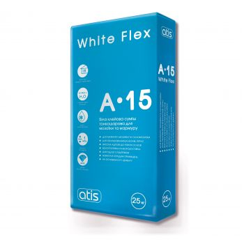 Клей Atis A-15 White Flex 25 Кг.