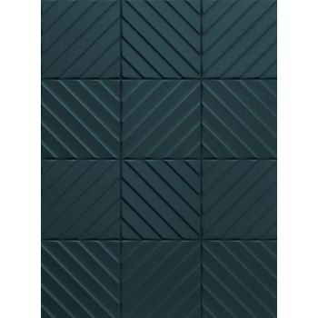Плитка E065 4D DIAGONAL D.BLUE MATT 20 200x200