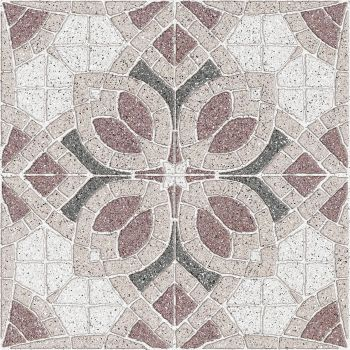 Плитка Golden Tile Sabbia Flower 7F1740 бежевий 300X300