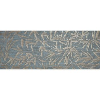 Плитка SHUI TEAL LEAVES 900x350
