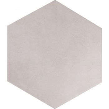 Terracina White Hexagon 25,8*29
