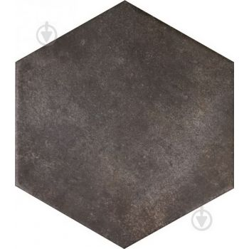 Terracina Black Hexagon 25,8*29